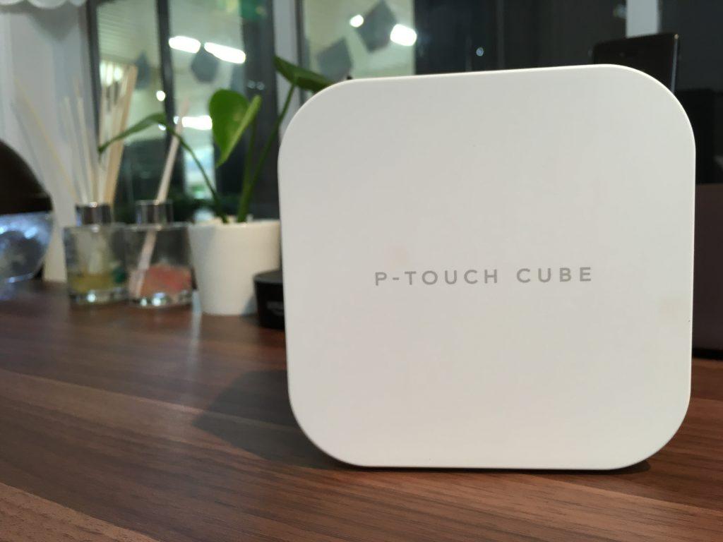 P-TOUCH CUBE かわいいリボンテープ